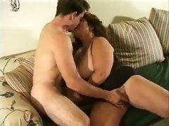 Exotic BBW, Mature porn scene