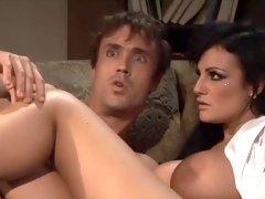 Fabulous pornstar Sophie Dee in crazy cumshots, brunette porn movie