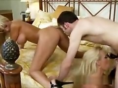 Exotic pornstars Holly Halston and Tanya James in incredible gangbang, straight xxx scene