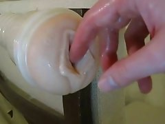 Creampie in My New Fleshlight