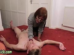 Mature femdom teaching