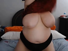Chubby Big Busty on Webcam - negrofloripa