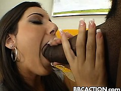 Tiffany gets nailed by black cock